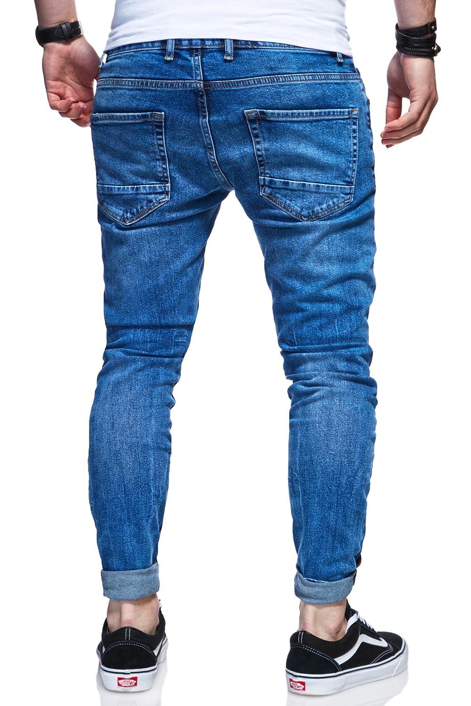 Behype. Herren Destroyed Jeans-Hose 80-0100 B078XFTSPV Jeanshosen Jeanshosen Jeanshosen Elegante Form 5cdbbd