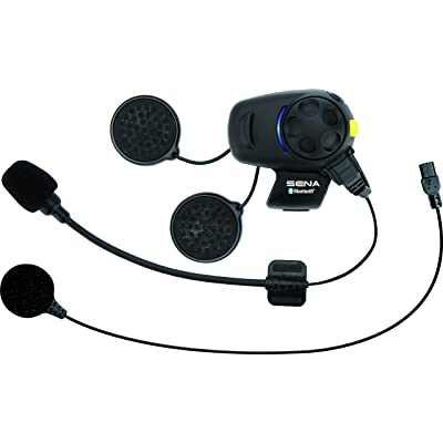 Sena SMH5-FM-UNIV Bluetooth Headset and Intercom with Built-In FM Tuner for Scooters/Motorcycles with Universal Microphone Kit: Automotive