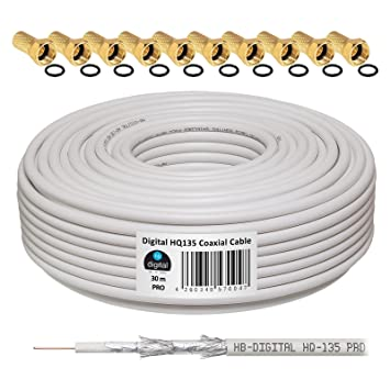 Cable coaxial usos