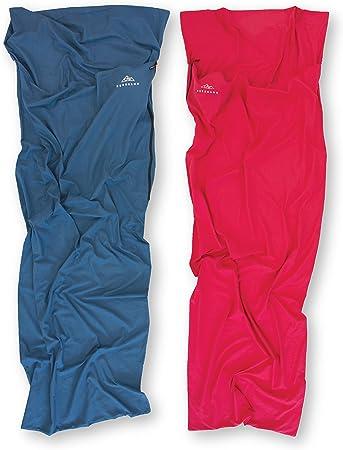 NORDKAMM – Saco de Dormir 100% algodón, Azul, Sábana para Saco de ...