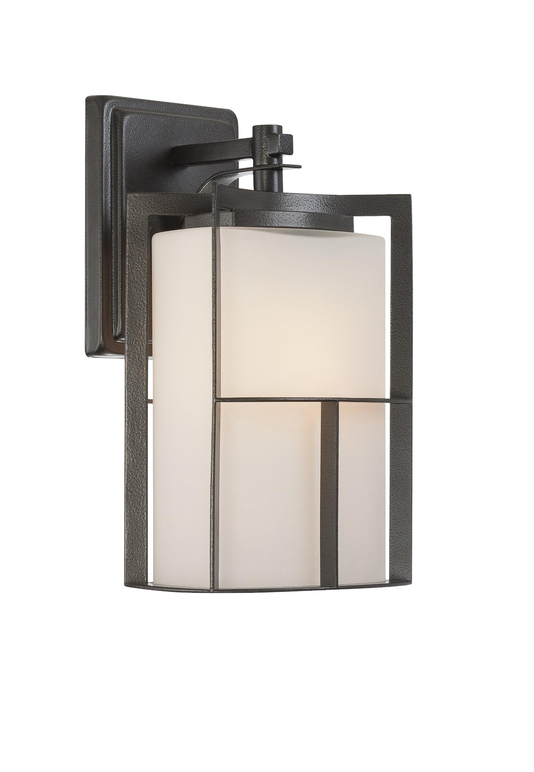 Designers Fountain 31821-CHA Braxton 7 Inch Wall Lantern