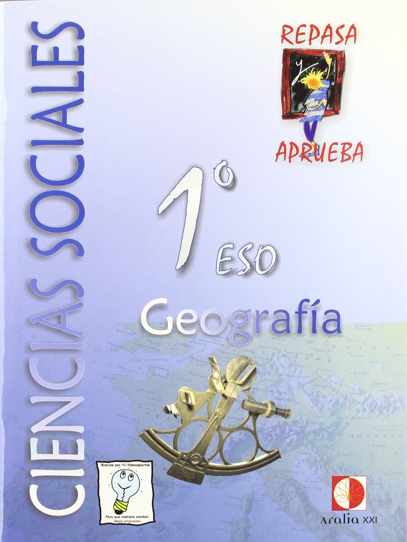 Download Repasa y aprueba, ciencias sociales, geografía, 1 ESO. Cuaderno ebook