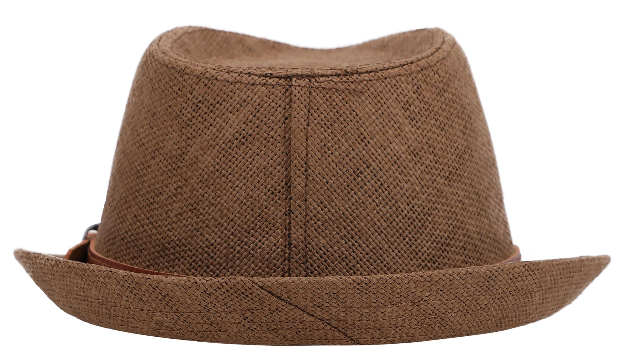 Jasmine Straw Hat Men Classic Short Brim Miami Beach Panama Fedora Straw Hat,LXL