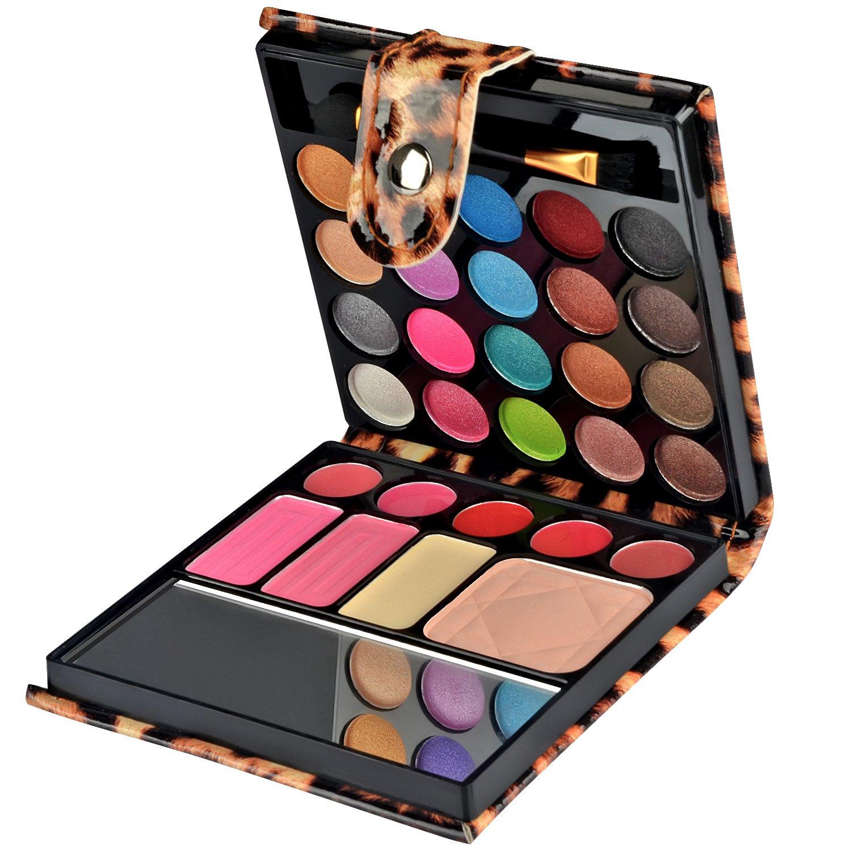 Ecvtop Professional Makeup Kit Eyeshadow Palette Lip Gloss Blush Concealer, 29 Color : Beauty
