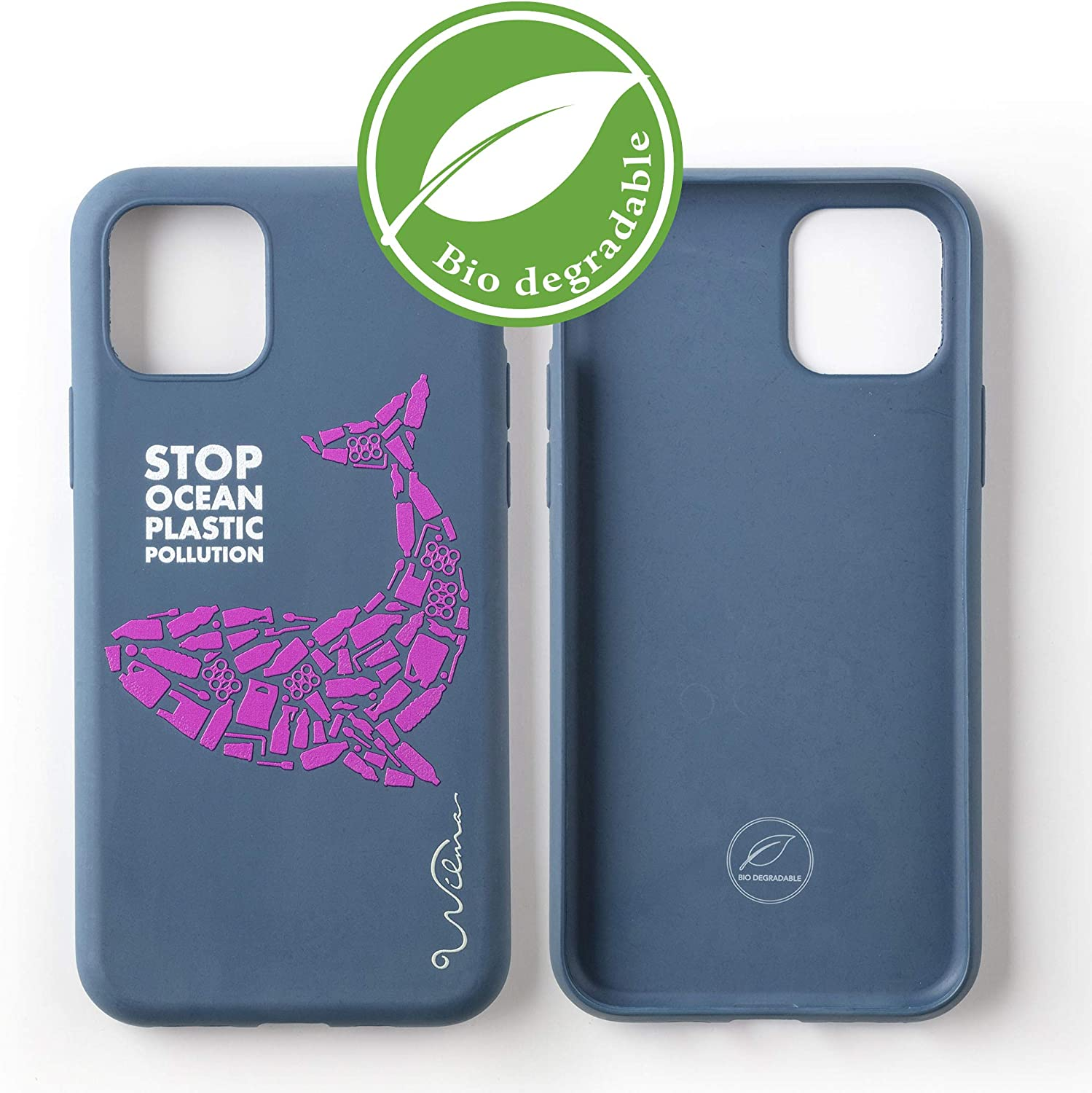 Funda Biodegradable Ecológica Wilma Compatible con iPhone 11 Pro ...