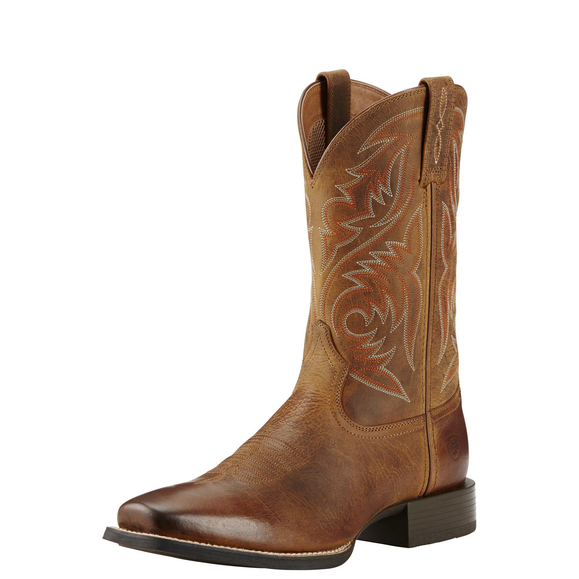Ariat Men's Sport Herdsman Work Boot, Powder Brown, 10.5 D US