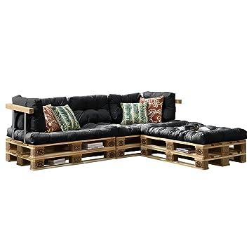 [en.casa] Euro Paletten Sofa   DIY Möbel   Indoor Sofa Mit