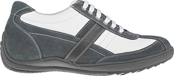 TOTO A6635-2.8 Inches Elevator Height Increase White /& Grey Casual Sneakers