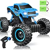 DOUBLE E RC Car 2020 Newest 1/12 Scale Remote Control Car, 2.4Ghz Off Road RC Trucks with Two Rechargeable Batteries 60…