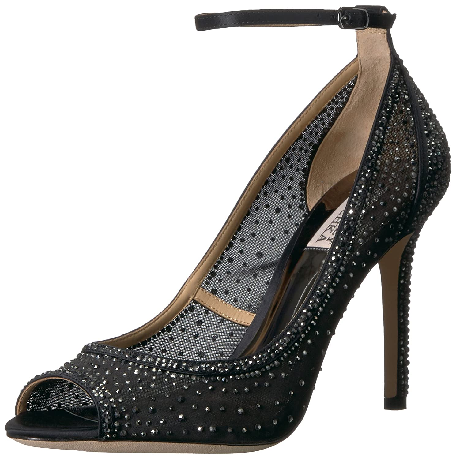 Badgley Mischka Women's Weylin Pump B073CWWPPC 7.5 B(M) US|Black