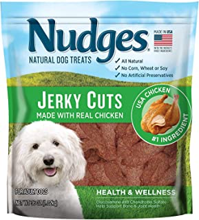 product image for Nudges Health and Wellness Chicken Jerky Dog Treats (36 Ounce)