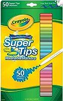 Crayola 50 Super Tips Washable Markers