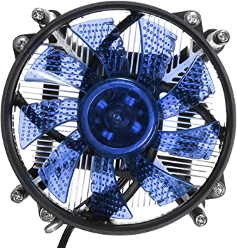 DyNamic LED CPU Enfriador Ventilador DisiPador De Calor Radiador ...