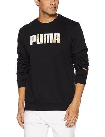 Puma Men s Cotton Sweatshirts  Amazon.in  Clothing   Accessories 14a5bbddd
