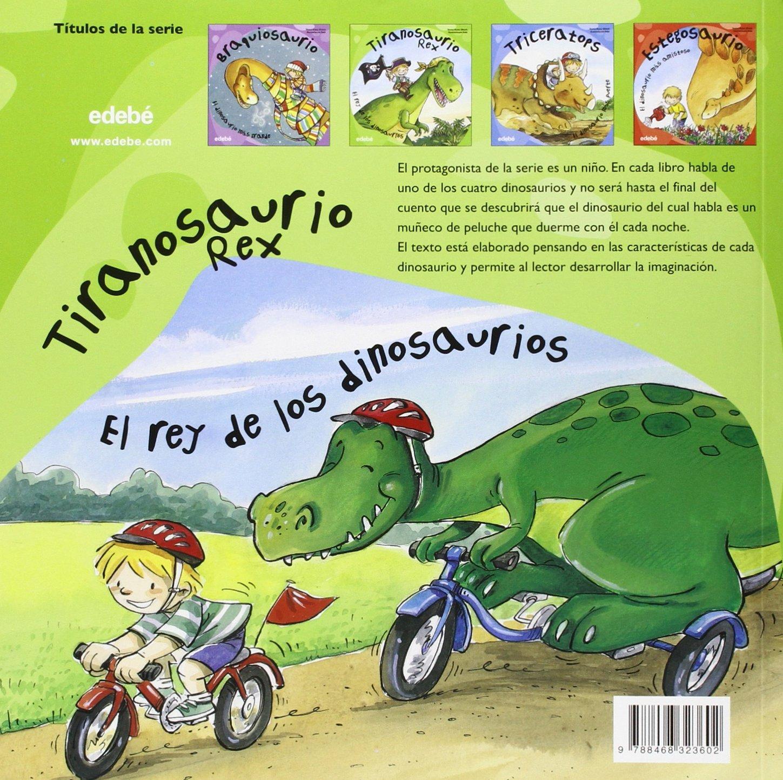 Tiranosaurio Rex: el Rey de los dinosaurios: Anna Obiols: 9788468323602: Amazon.com: Books