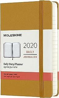 Moleskine - Agenda semanal horizontal de 12 meses 2020, tapa ...
