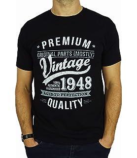 70th Birthday Gifts For Men Vintage Premium 1948 T Shirt Amazonco