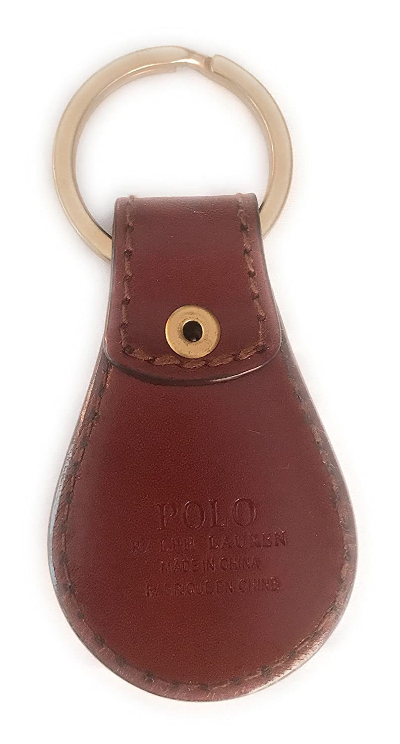 Polo Ralph Lauren Leather Key Fob Keychain Key Ring Embossed ...
