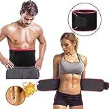Wollgord Waist Trimmer Waist Trimmer, Premium Weight Loss Ab Belt for Men & Women Workout Sweat Enhancer Exercise Adjustable Wrap for Stomach Enjoy Sweet Abdominal Muscle & Back Support