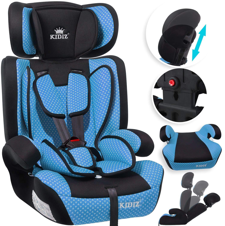 Gruppe 1//2 // 3 36 kg 1-12 Jahre universal 9 kg zugelassen nach ECE R44//04 Autositz Sitzschale 6 verschiedenen Farben Gr/ün KIDIZ/® Autokindersitz Kindersitz Kinderautositz