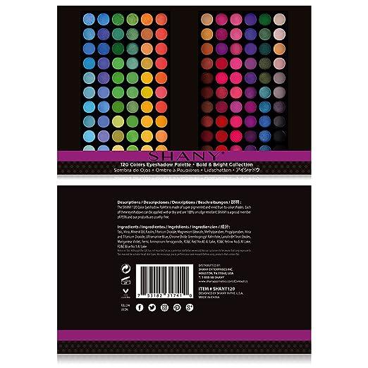 Amazon.com: Paleta de sombras de ojos Shany, colección ...