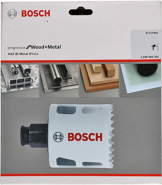 Bosch Bi-Metall Lochsäge Progressor for Wood /& Metal 111mm