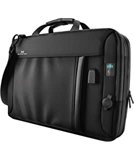 becedbe0f1e Ghostek NRGmessenger Series 8.5L Laptop Messenger Shoulder Bag + 16,000mAh  Power Bank with 3
