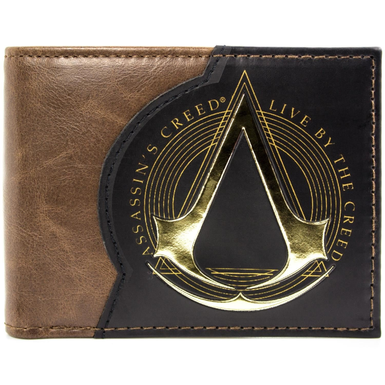 Assassins Creed Live By The Creed Marrone portafoglio 29410