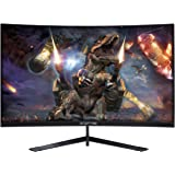 "Sceptre Curved 27"" 144Hz Gaming LED Monitor Frameless AMD Freesync Premium DisplayPort HDMI Build-in Speakers, Machine…"