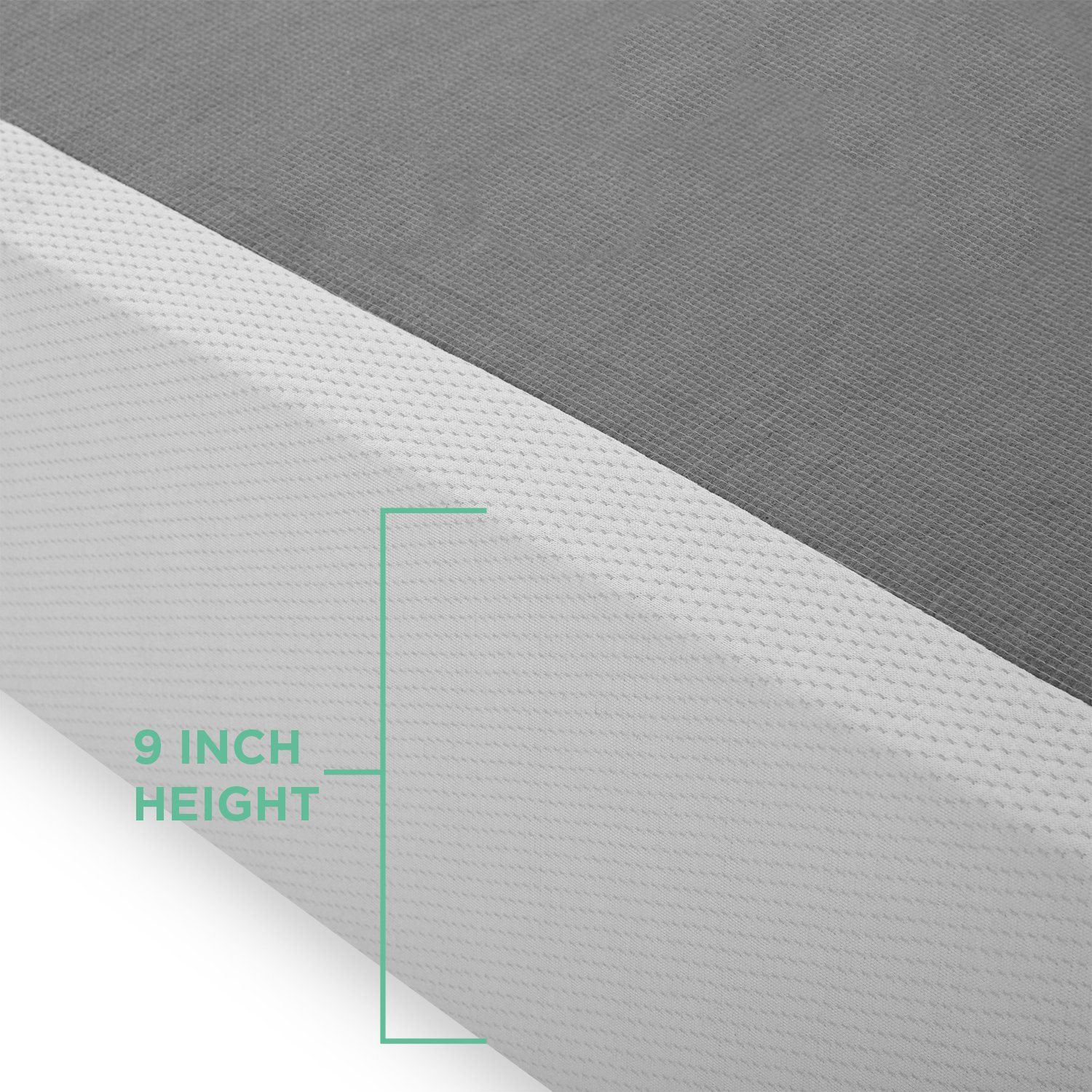 Zinus SM-SC-BIFD-9TXL  9 Inch High Profile BiFold Box Spring Twin XL No assembly required Strong Steel structure Folding Mattress Foundation