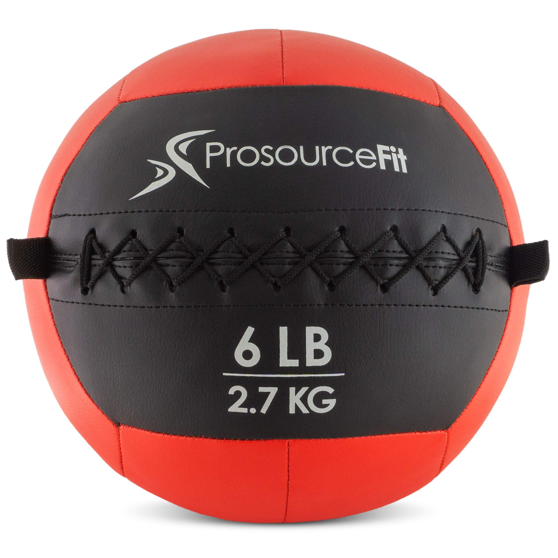 ProsourceFit Soft Medicine Balls for Wall Balls and Full Body Dynamic Exercises, Color-Coded Weights_ 6 lb by ProsourceFit