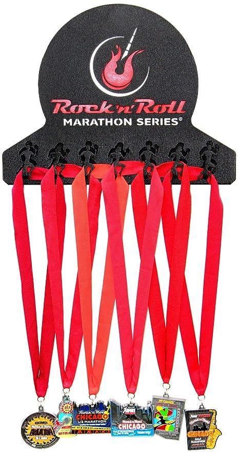 3a0e843c9 Official Rock n' Roll Marathon Series Medal Display - 3D Runner tabs