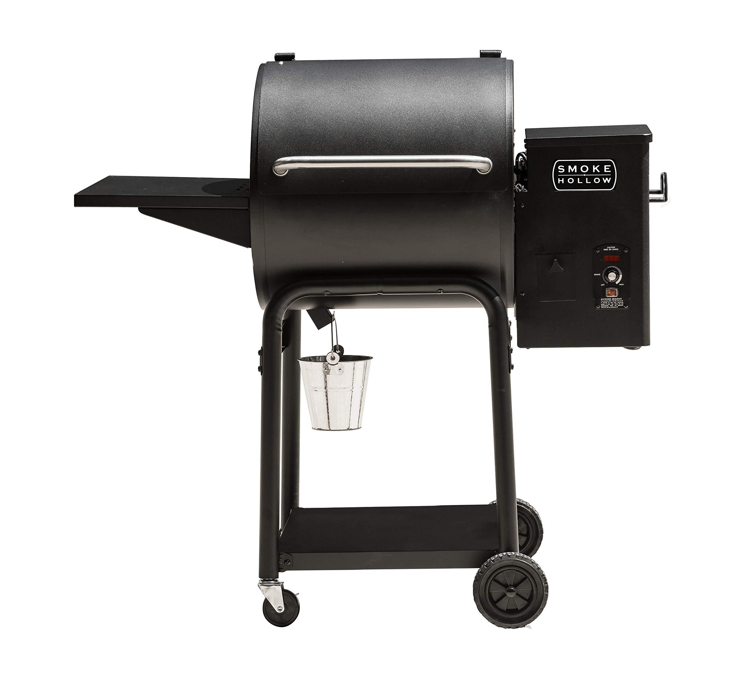 Masterbuilt Smoke Hollow WG400B Pellet Grill, Black by Masterbuilt