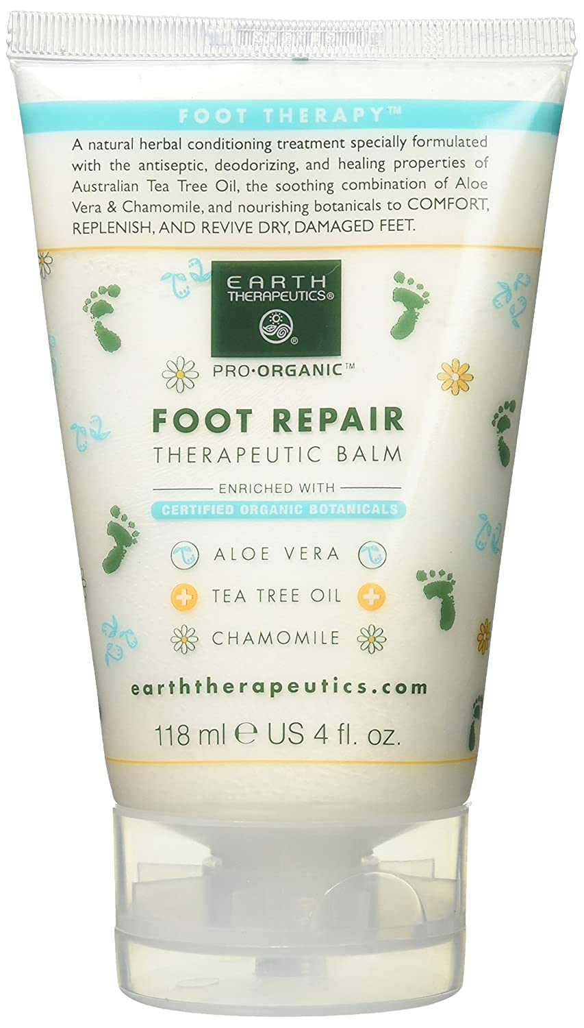 Foot Repair Balm Earth Therapeutics 4 oz Balm ET9649