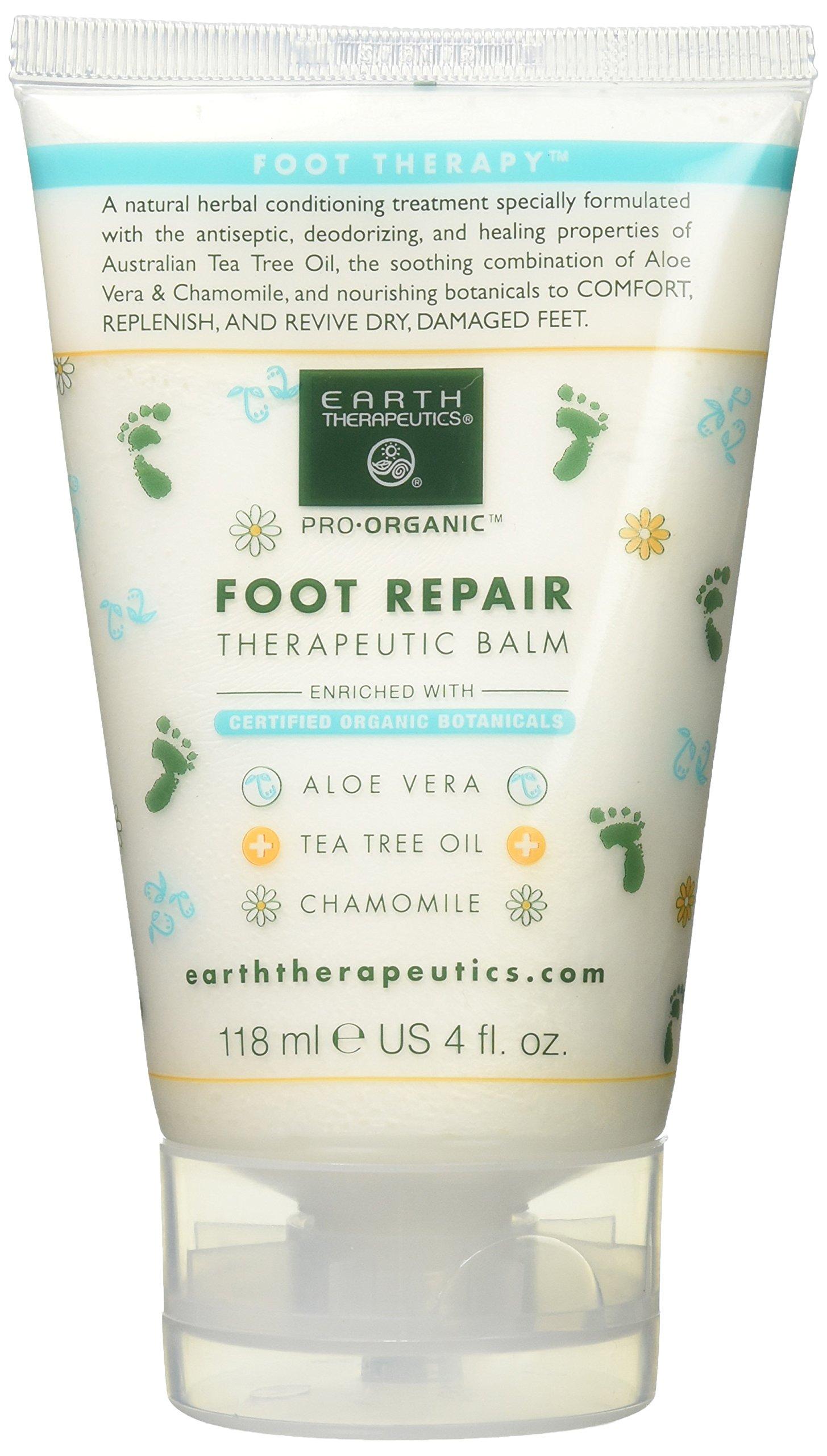 Refreshing Foot Scrub 4 oz By Earth Therapeutics UNITE SECOND Day Finishing Cream, 2oz