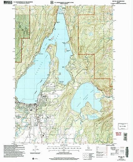 Amazon Com Yellowmaps Mccall Id Topo Map 1 24000 Scale 7 5 X 7 5