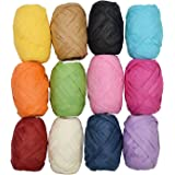 Asian Hobby Crafts Paper Ribbon Yarn Box (Pack of 12)