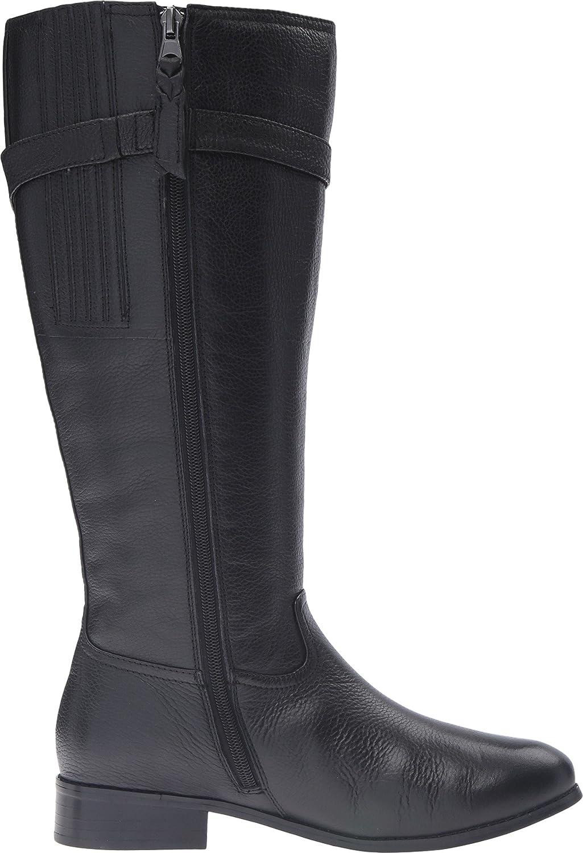 Trotters Women's Lyra Wide Calf Riding US|Black Boot B019QTQPNG 7 B(M) US|Black Riding Veg Tumbled Leather bcba0f