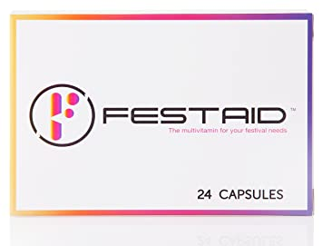 Festaid Rave Hangover Protection Pills - Music Festival Essentials, Pre  Party Supplement, Prevent