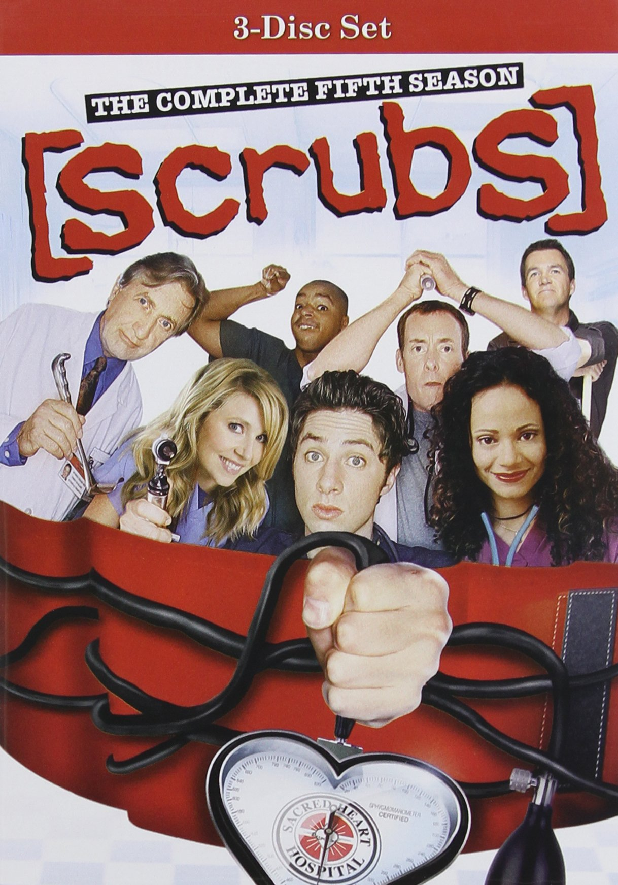 DVD : Scrubs: The Complete Fifth Season (3PC)