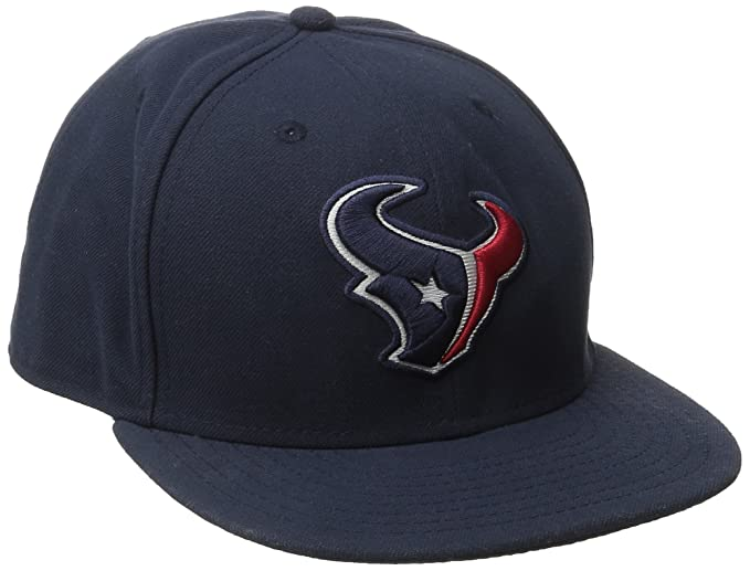 Amazon.com   NFL Mens Houston Texans On Field 5950 Navy Game Cap By New Era    Sports Fan Baseball Caps   Clothing 992406412
