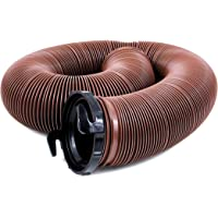 Valterra D04-0082 EZ Flush Standard Drain Hose with T1024 Adapter - 10'