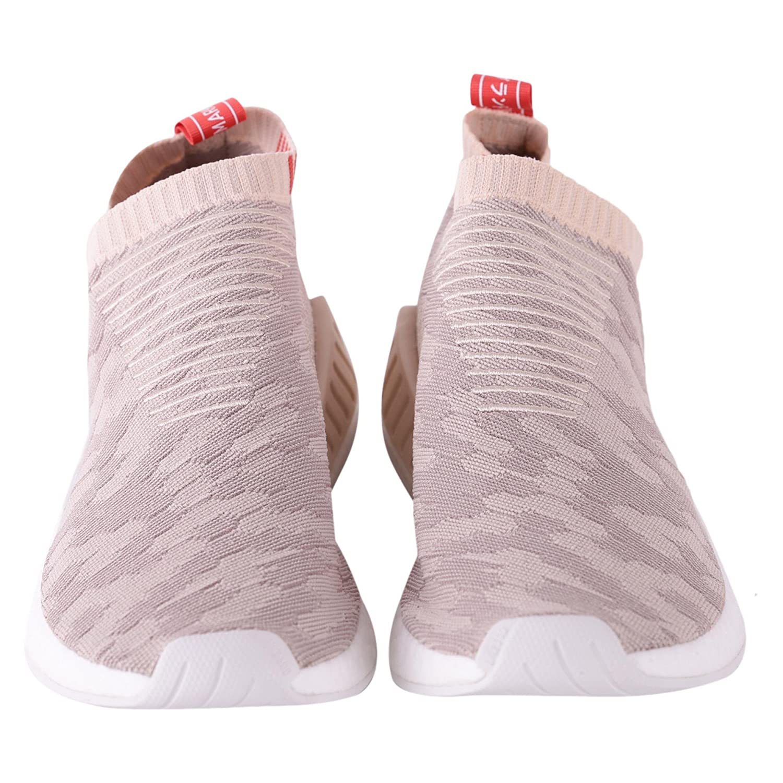 adidas Scarpe Uomo NMD_CS2 Primeknit Shoes Beige in