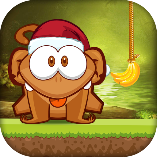 Cut the Banana:Monkey rope