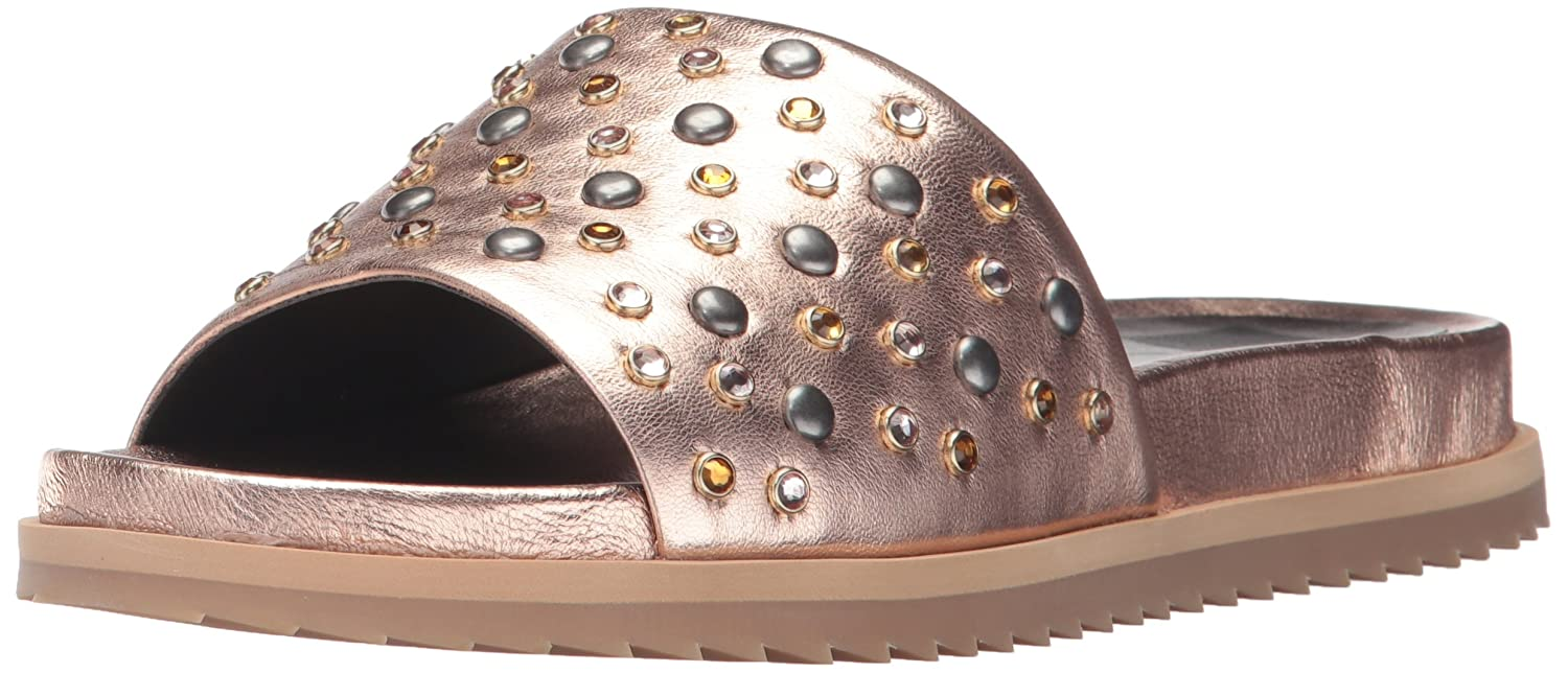Dolce Vita Women's Gia-S Slide Sandal B071JN8FJR 10 B(M) US|Rose Gold Leather