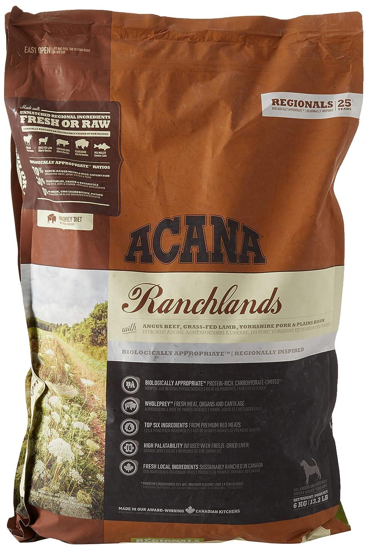 ACANA Ranchlands Comida para Perros - 2000 gr: Amazon.es: Productos para mascotas