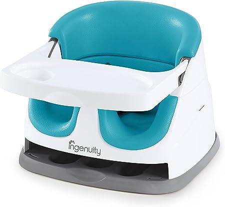 Asiento fácil de limpiar y la bandeja es apta para lavavajillas,Asiento seguro para bebés,Se convier