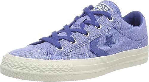 Converse Lifestyle Star Player Ox Cotton, Chaussures de Fitness Mixte Enfant