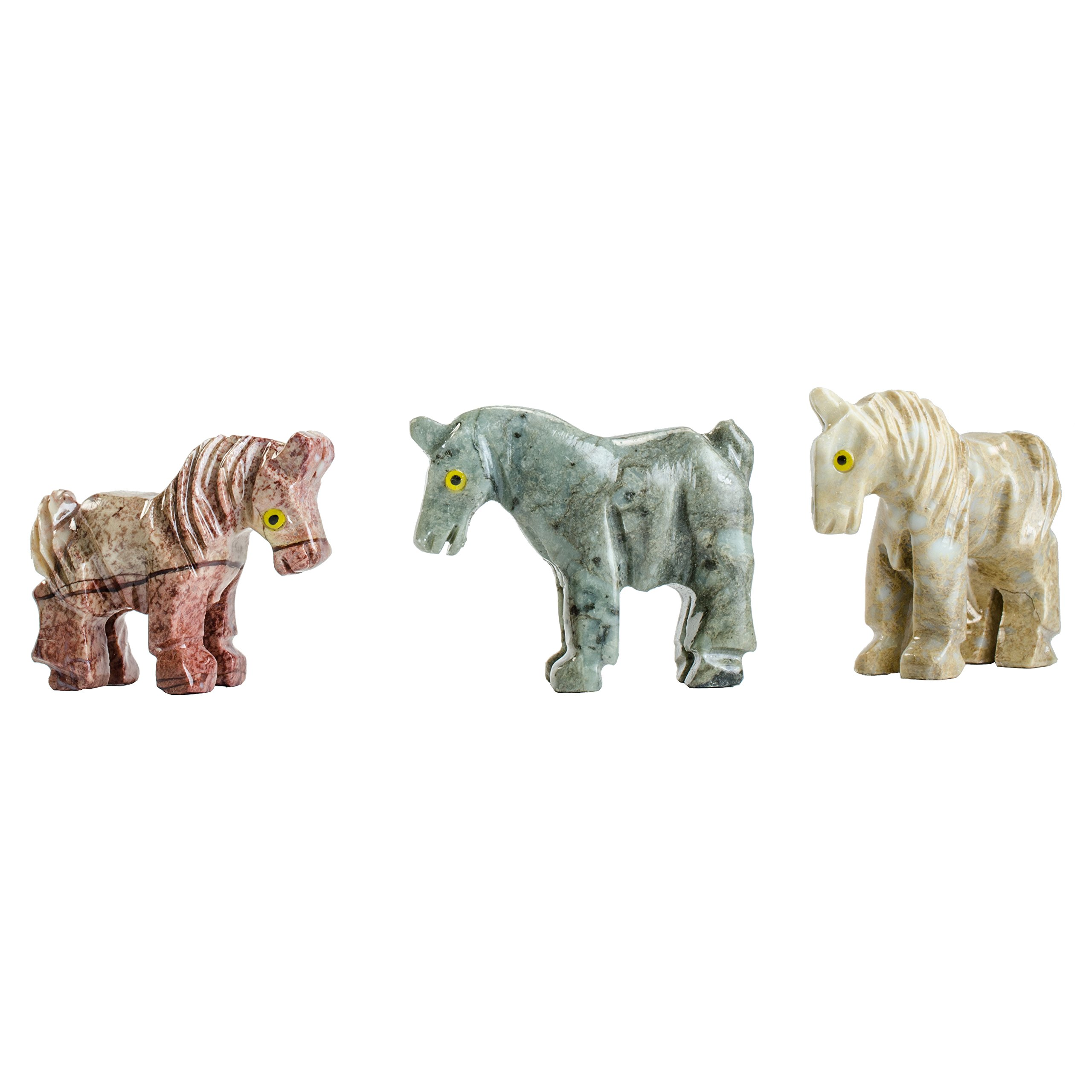 Digging Dolls : 30 pcs Artisan Horse Collectable Animal Figurine - Party Favors, Stocking Stuffers, Gifts, Collecting and More!