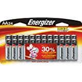 Energizer Max AA Premium Alkaline Batteries (24-Pack), No Leaks - Guaranteed or we will replace your device